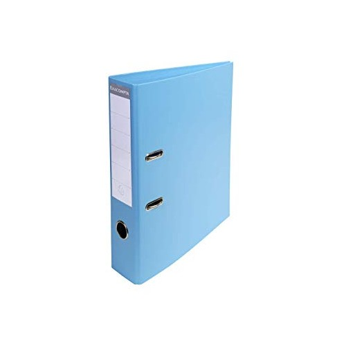 Exacompta Pvc Lever Arch Files A4 70mm Light Blue