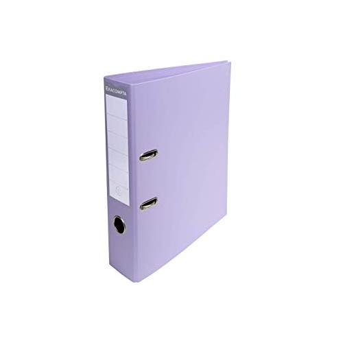 Exacompta Pvc Lever Arch Files A4 70mm Lilac