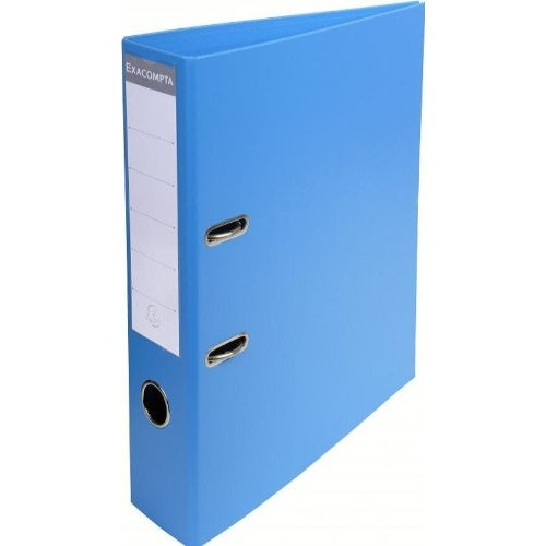 Exacompta Pvc Lever Arch Files A4 70mm Blue