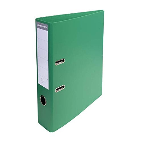 Exacompta Pvc Lever Arch Files A4 70mm Green