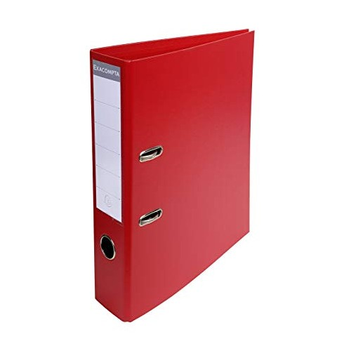 Exacompta Pvc Lever Arch Files A4 70mm Red