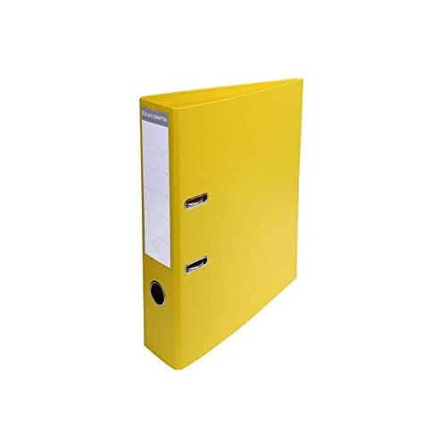Exacompta Pvc Lever Arch Files A4 70mm Yellow