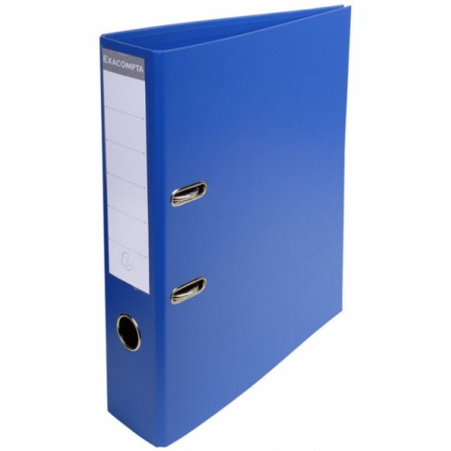 Exacompta Pvc Lever Arch Files A4 70mm Dark Blue