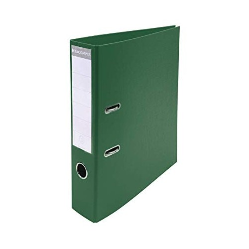 Exacompta Pvc Lever Arch Files A4 70mm Dark Green