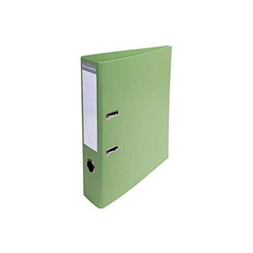 Exacompta Pvc Lever Arch Files A4 70mm Lime Green