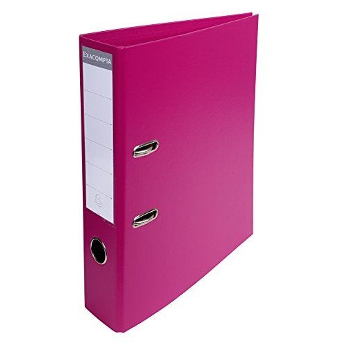 Exacompta Pvc Lever Arch Files A4 70mm Raspberry