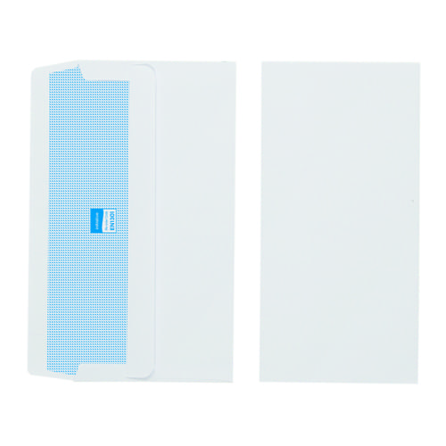 Initiative White Envelopes DL 110mm x 220mm Self Seal Plain 110gsm Box 1000s