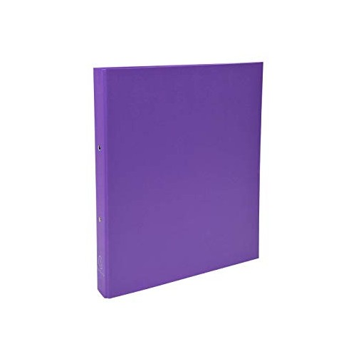 Exacompta Plastic Coated Ring Binders A4+ 2 Ring Purple