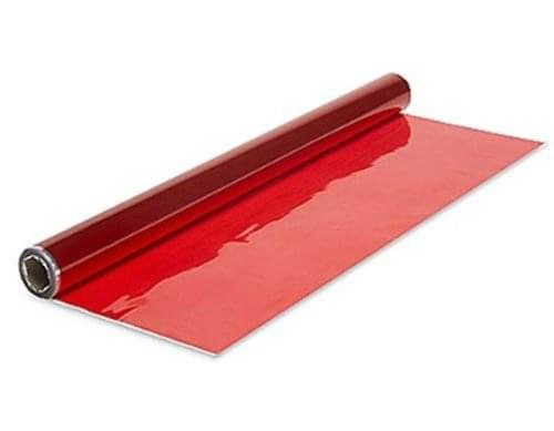 Cellophane Roll 500mm x 5mtrs. Red