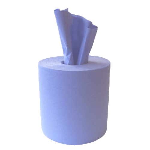 Centrefeed Hand Towels Blue Pack 6s