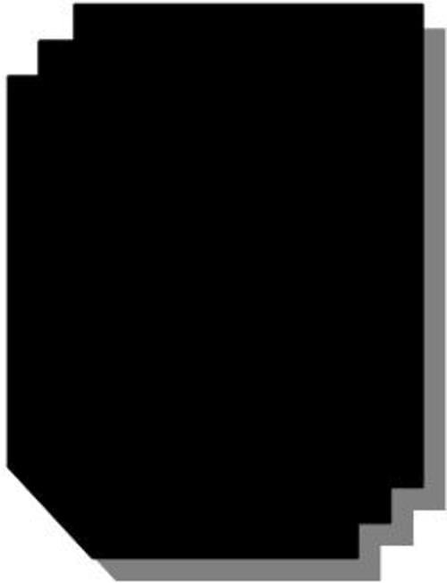 Blackboard 594 x 420mm 280 Microns