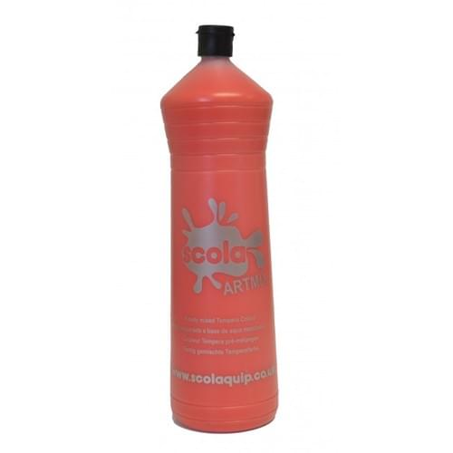 Readymix Paint 1 Litre Brilliant Red