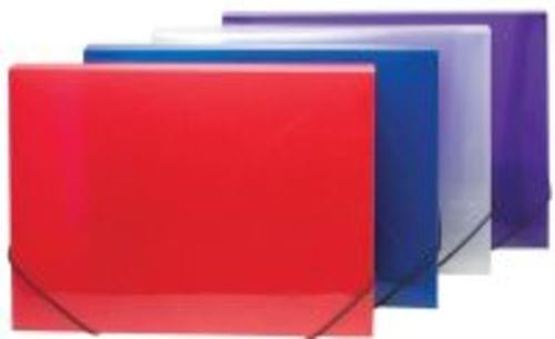 Clearview Box File Assorted Colours