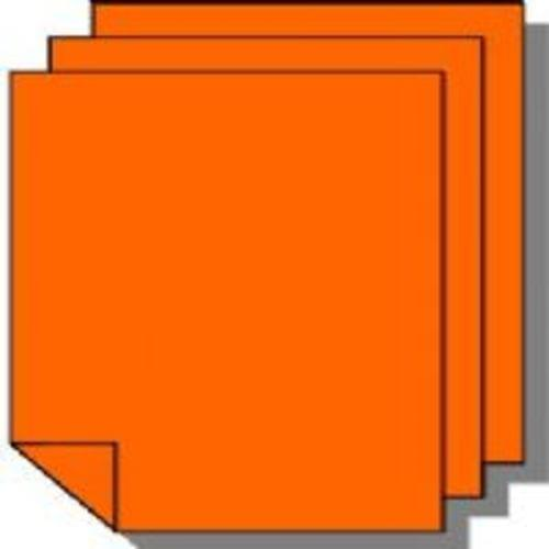 Tinted Board A2 300 Microns Orange
