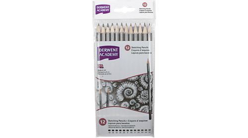 Academy Sketching Pencils Assorted 12 Degrees