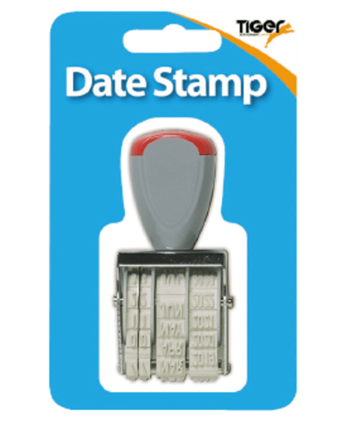 12 Year Date Stamp