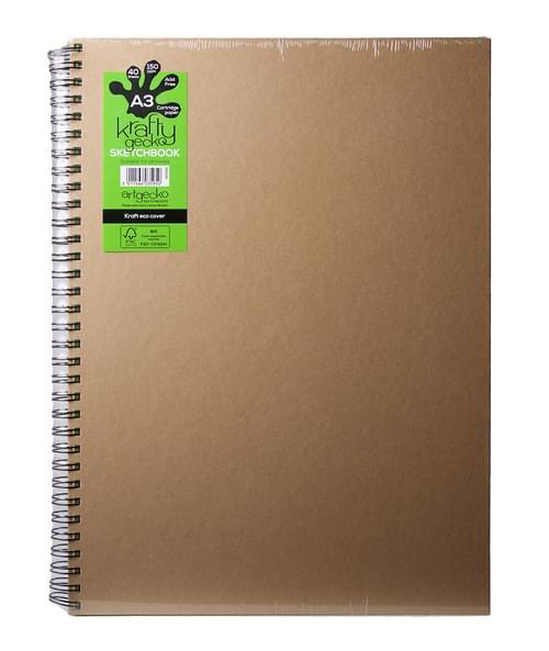 Krafty Gecko Sketch Book A3
