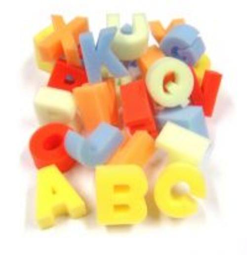 Foam Letter Shapes Pack Of 26 Uppercase Letters
