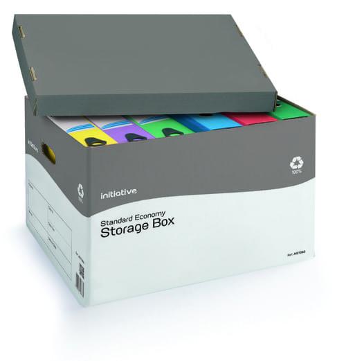 Initiative Economy Storage Boxes Standard 317w x 384d x 287mm