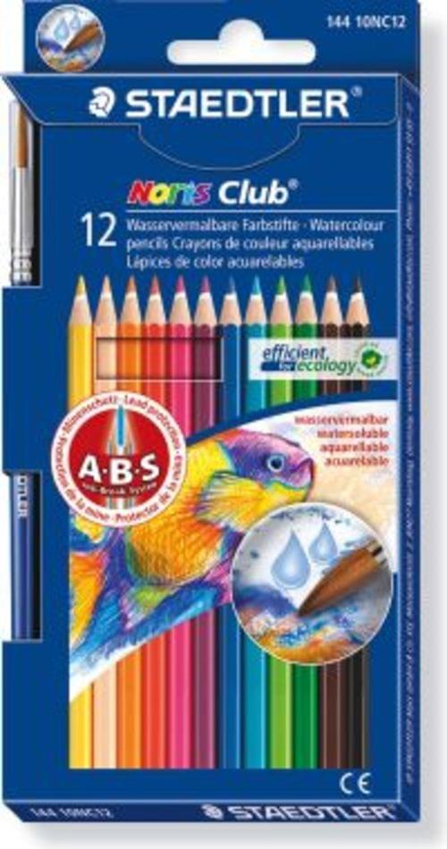 Staedtler Norris Club Aquarell Watercolour Pencils Assorted 12s