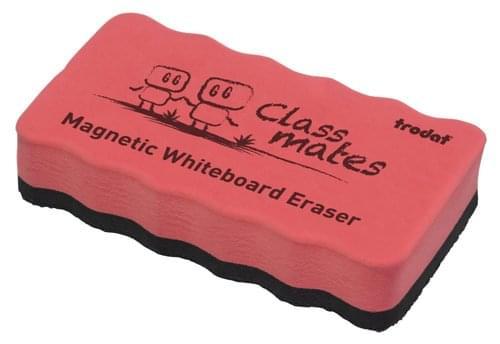 Trodat Classmaster Whiteboard Magnetic Eraser Pink