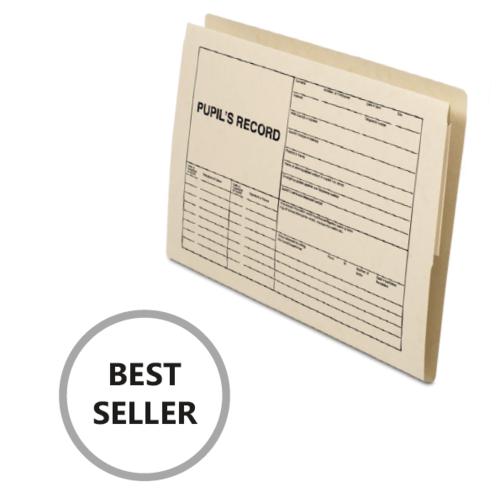 Railex Pupil Record Folder Ivory