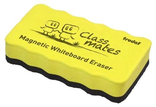 Trodat Classmaster Whiteboard Magnetic Eraser Yellow