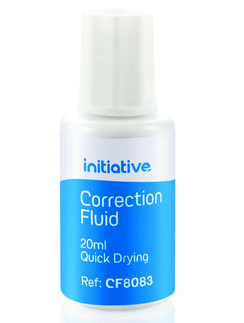 Initiative Correction Fluid 20ml White