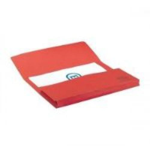 Elba Strongline Document Wallets Foolscap Red