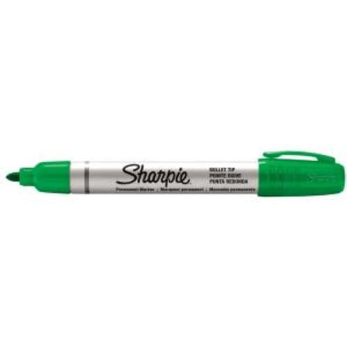 Sharpie Pro Bullet Tip Permanent Markers Green