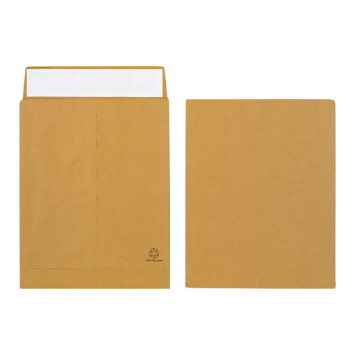 Manilla Gussetted Pocket Envelopes 305mm x 254mm x 25mm Pack 125s