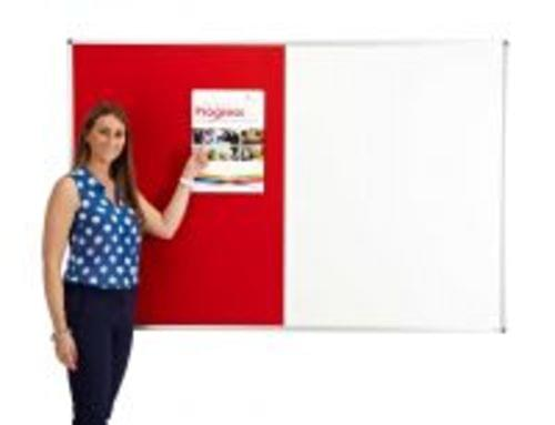 Combination Pin / Write Noticeboards 600mm x 900mm