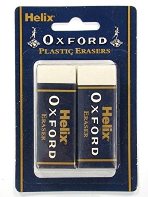 Oxford Hanging Pack Large white Eraser Pack 2s