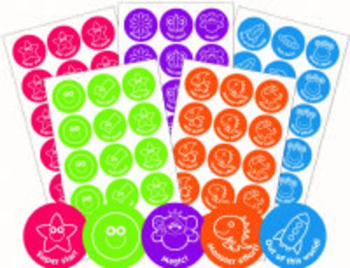Bumper Pack Motivational Stickers Assorted Designs Pack 600