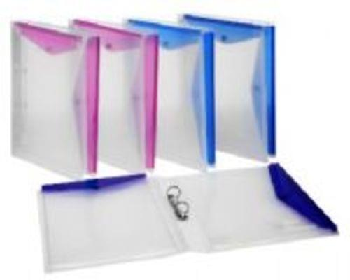 Snopake Ring Binders And Polyfiles Assorted Colours