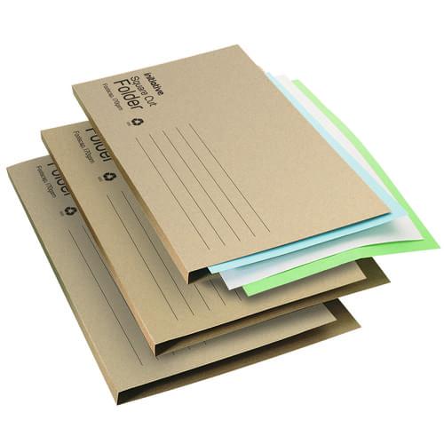Economy Manilla Filing Folders 170gsm Foolscap Buff