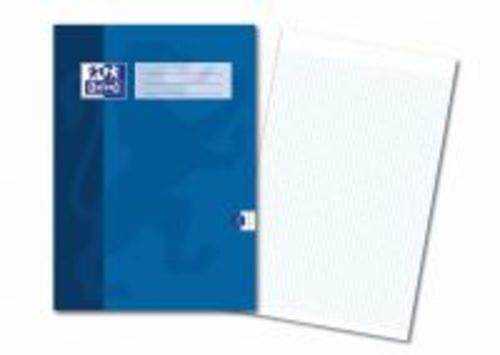 Oxford Exercise Books A4 48 Pages 5mm Squares Blue