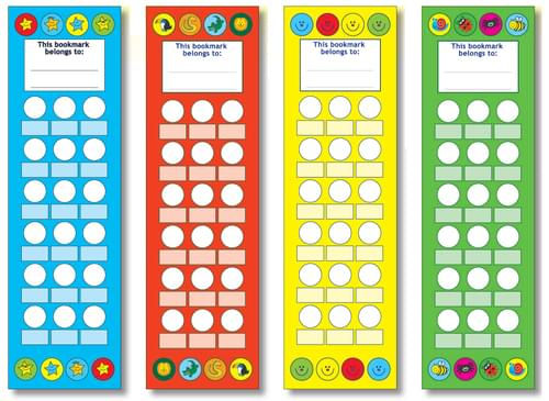 Mixed Bookmarks 50mm x 170mm Assorted Pack Of 40 55354