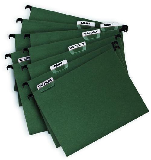 Economy Suspension Files Foolscap Green Pack 50