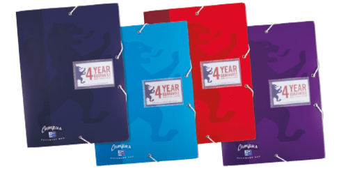 Campus Doc Box Assorted Colours