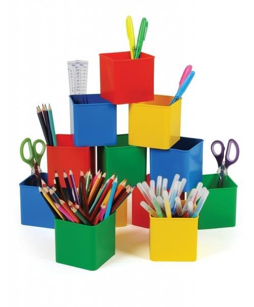 Desk Pots Assorted Pack 12s