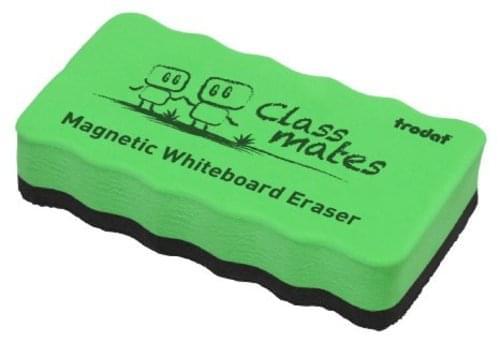 Trodat Classmaster Whiteboard Magnetic Eraser Green