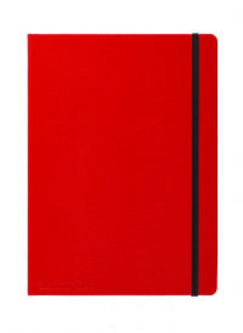 Red By Black n' Red B5 Notebook