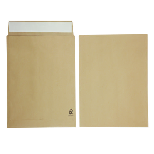 Manilla Gussetted Pocket Envelopes 406mm x 305mm x 25mm Pack 125s