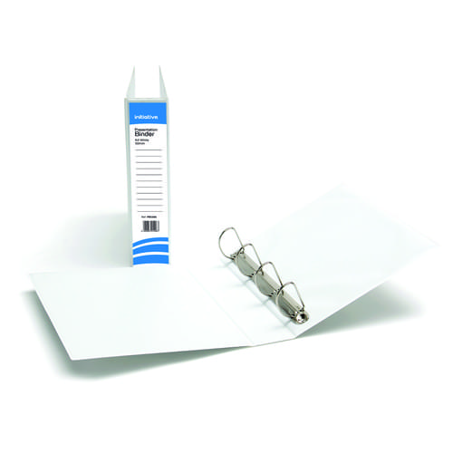 Presentation Binders 4 Ring A4 50mm White