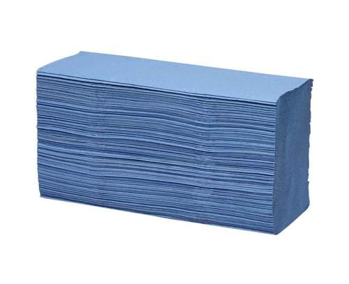 Hand Towels C Fold 1 Ply Recycled 15 Packs Of 180 Towels Blue