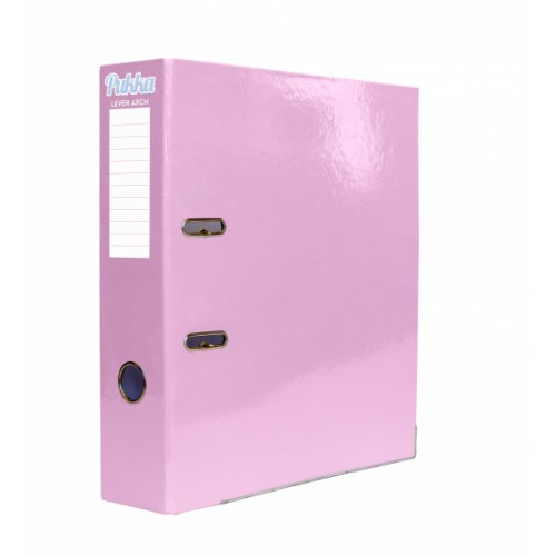 Pukka Lever Arch Files A4 Pastel Colours Assorted