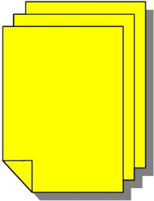 TR5 Vivid Board 450 x 640mm Harvest Yellow