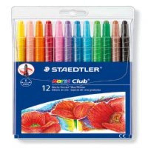 Staedtler Norris Club Wax Twister Assorted Pack 12s