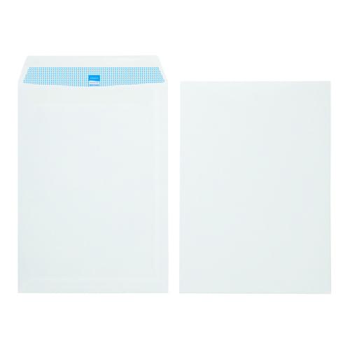 Initiative White Envelopes C4 324mm x 229mm Self Seal Plain 90gsm Box 250s